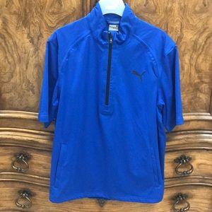 Puma Golf StormCell Short Sleeve Rain Jacket